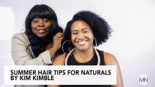 Summer Hair Style For Naturals By Celebrity Stylist Kim Kimble