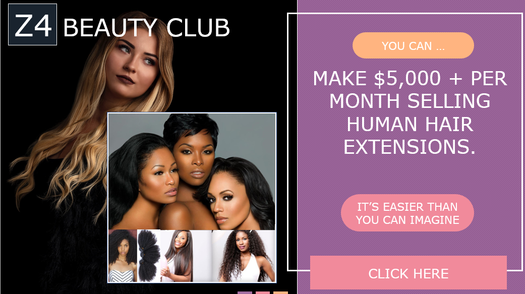Make $5k per month selling hair extensions