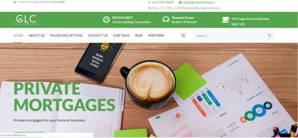 Green Lending Corporation