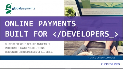 Global Payments Offers Reliable Credit Card Merchant Service Ideal For Webmasters and Developers @matrixthinker