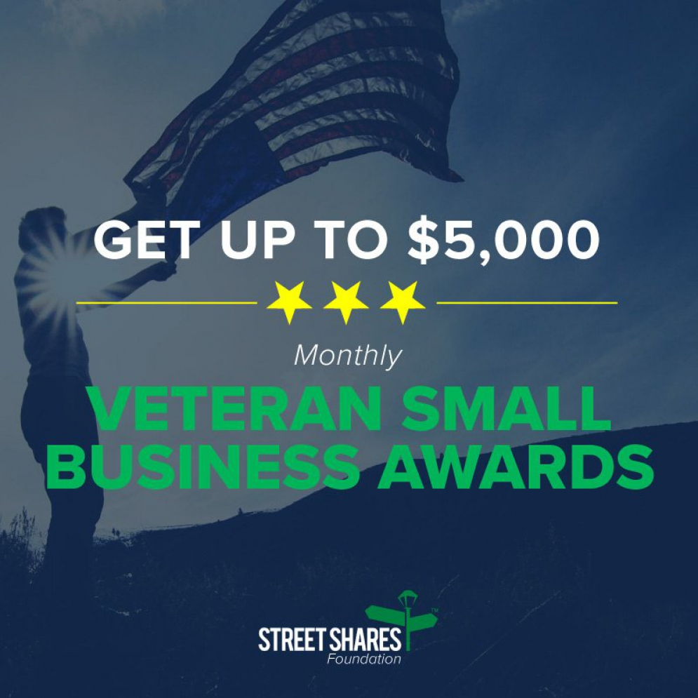 Get Up To $5,000 in @StreetShares VetSmallBiz Award @nikkiwentling @starsandstripes @matrixthinker