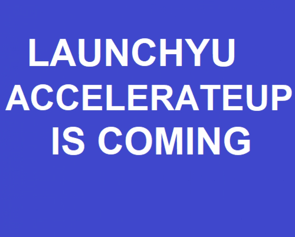 Secure Funding For Your Small Business #LaunchYU AccelerateUP Is An Amazing Program - Up to $12,500 Per Startup @LaunchYU_York #MotivationMonday #empowering @matrixthinker #funding #financing #mentors #advisors #yorkuniversity