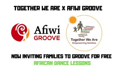 Are You A Parent With A Child Between The Ages Of 6-11? Register Now For Free African Drumming & Dance Lessons For You And Your Child Provided By Together We Are, Durham District School Board & Afiwi Groove Dance School