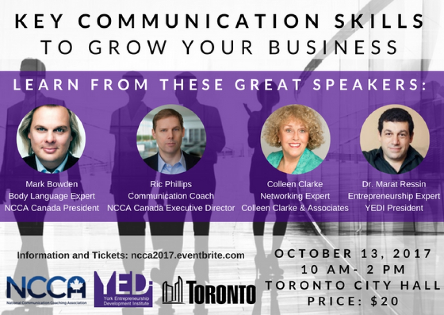 Is Your Communication Helping Or Hurting Your Business? Find Out At @NCCACanada Event @YEDInstitute @matrixthinker