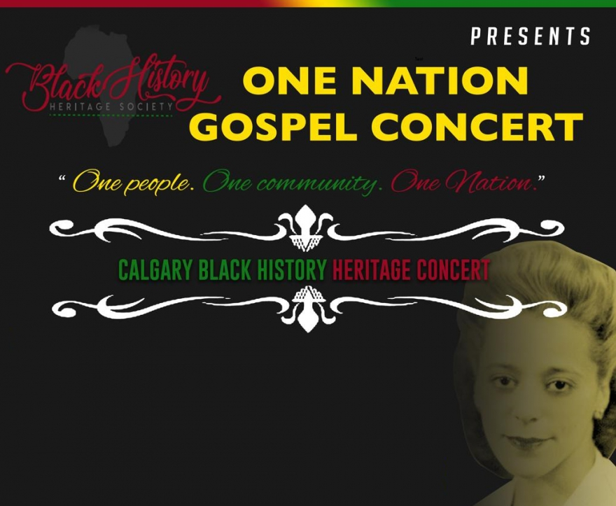 Black History Heritage Society Presents One Nation Gospel Concert - Get More Info @BlackHHS1 @matrixthinker #blackhistorymonth