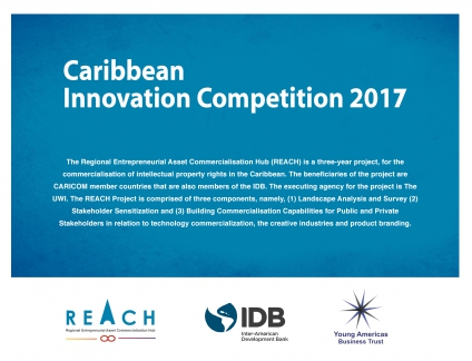 Caribbean Innovation Competition 2017 - $5,000 In Seed Funding Available @matrixthinker @thecaribcurrent @YABTs
