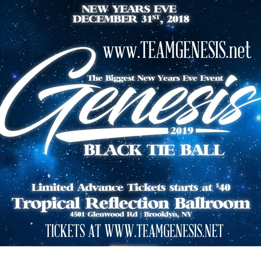 The Genesis New Year's Eve Black Tie Ball Is Back For 2019 – Order VIP Tickets Now #NewYork #Party #Nightlife