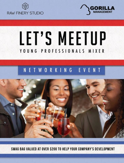 Expand Your Network @ Young Professional Mixer - Comp h'oeuves Plus Gift Bag Valued At $200 @matrixthinker @gorillatoronto